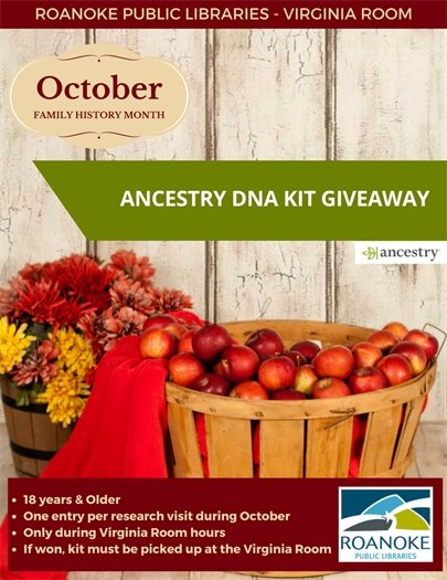 Ancestry DNA Kit Giveaway