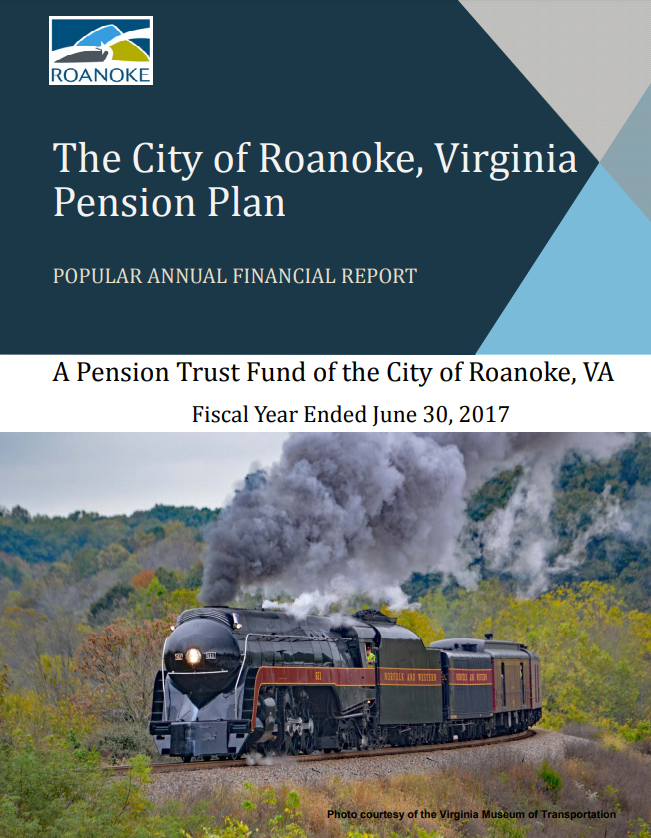 Link to Document Pension Trust Fund of the City of Roanoke, VA (Fiscal Year Ended June 30, 2017)