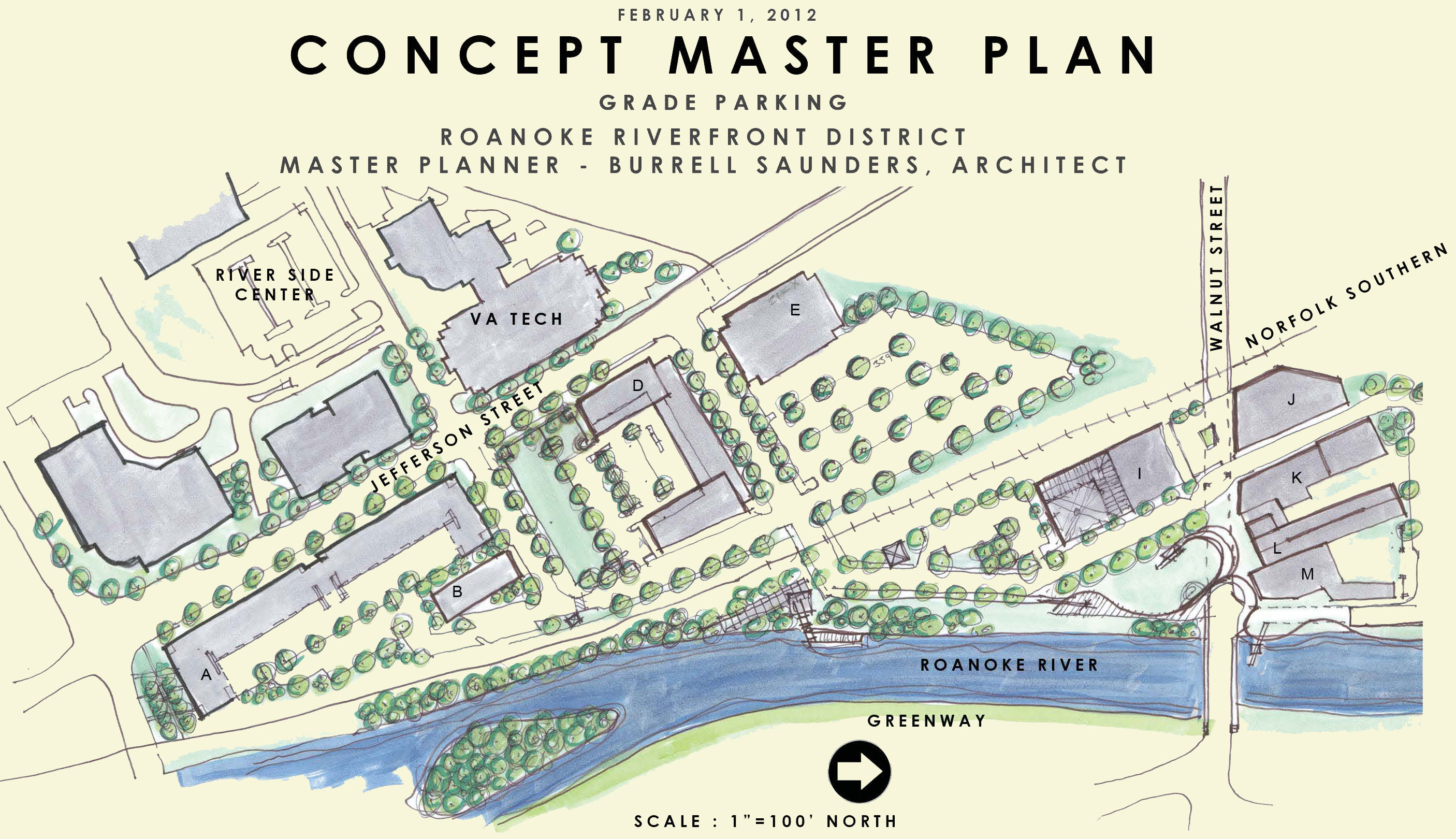 Concept Master Plan for Former Virginia Scrap Property