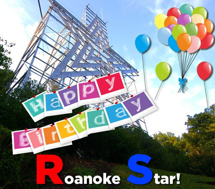 Happy 70th Birthday Roanoke Star