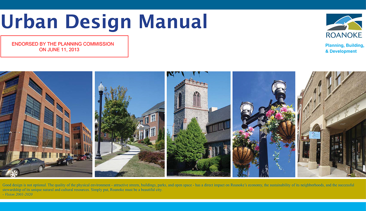 Urban Design Manual Cover