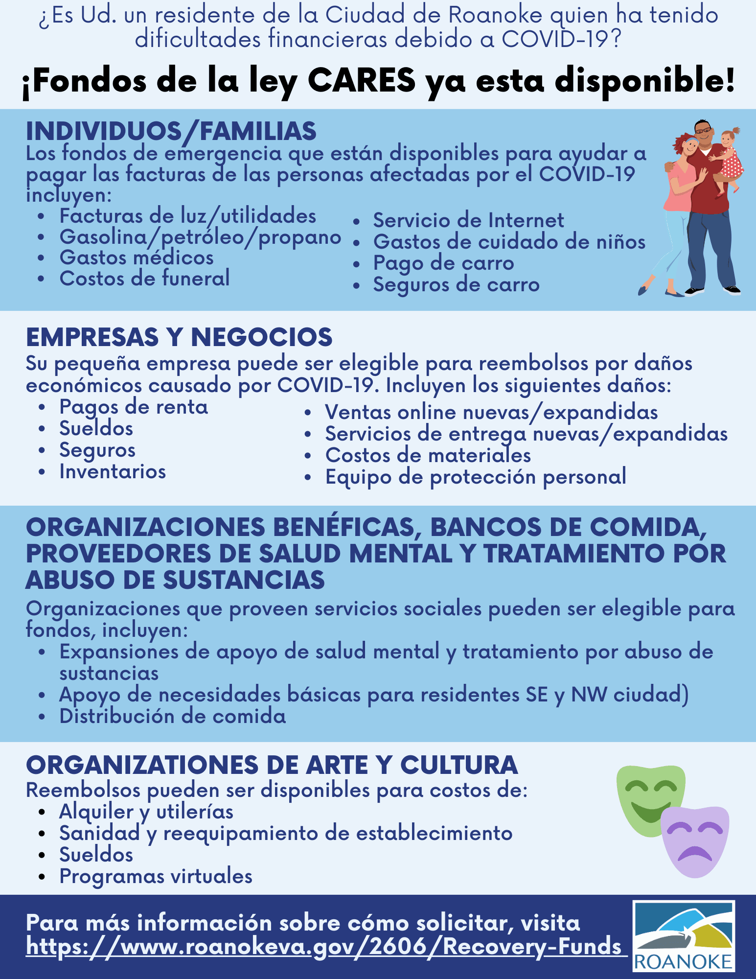 CARES Flyer Spanish