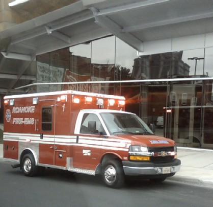 Roanoke Fire-EMS Vehicle