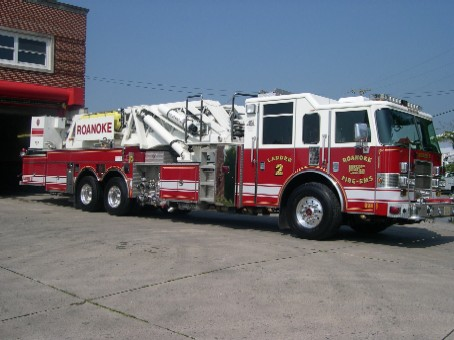 Roanoke Fire Engine