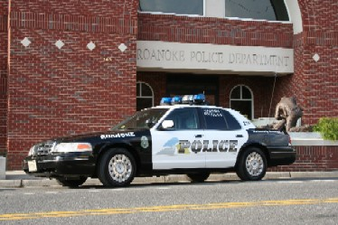 Roanoke Police Department Squad Car