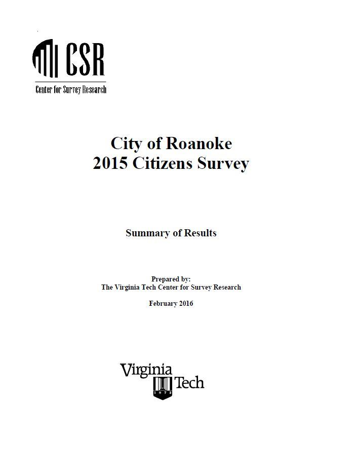 2015 Citizen Survey