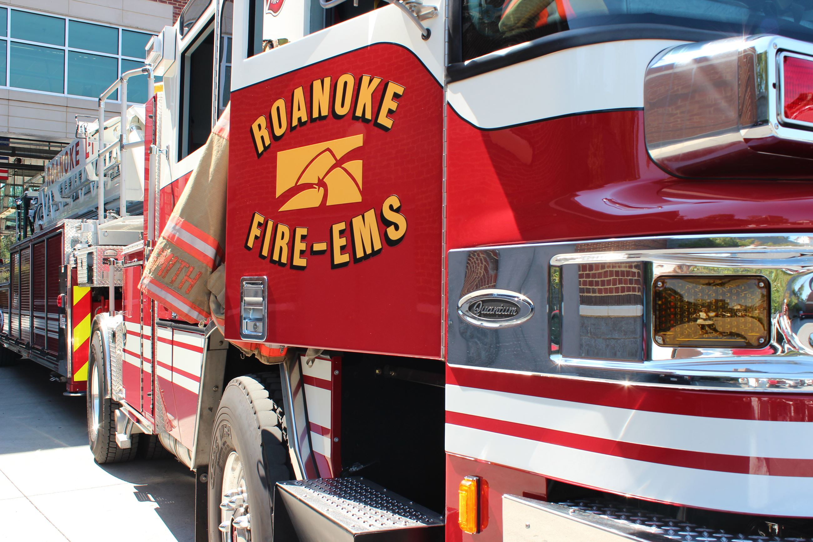 Roanoke FireEMS Truck