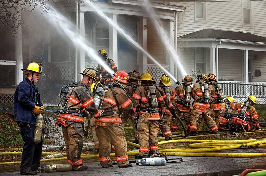 Marshall Ave Fire courtesy of Jeff Loope