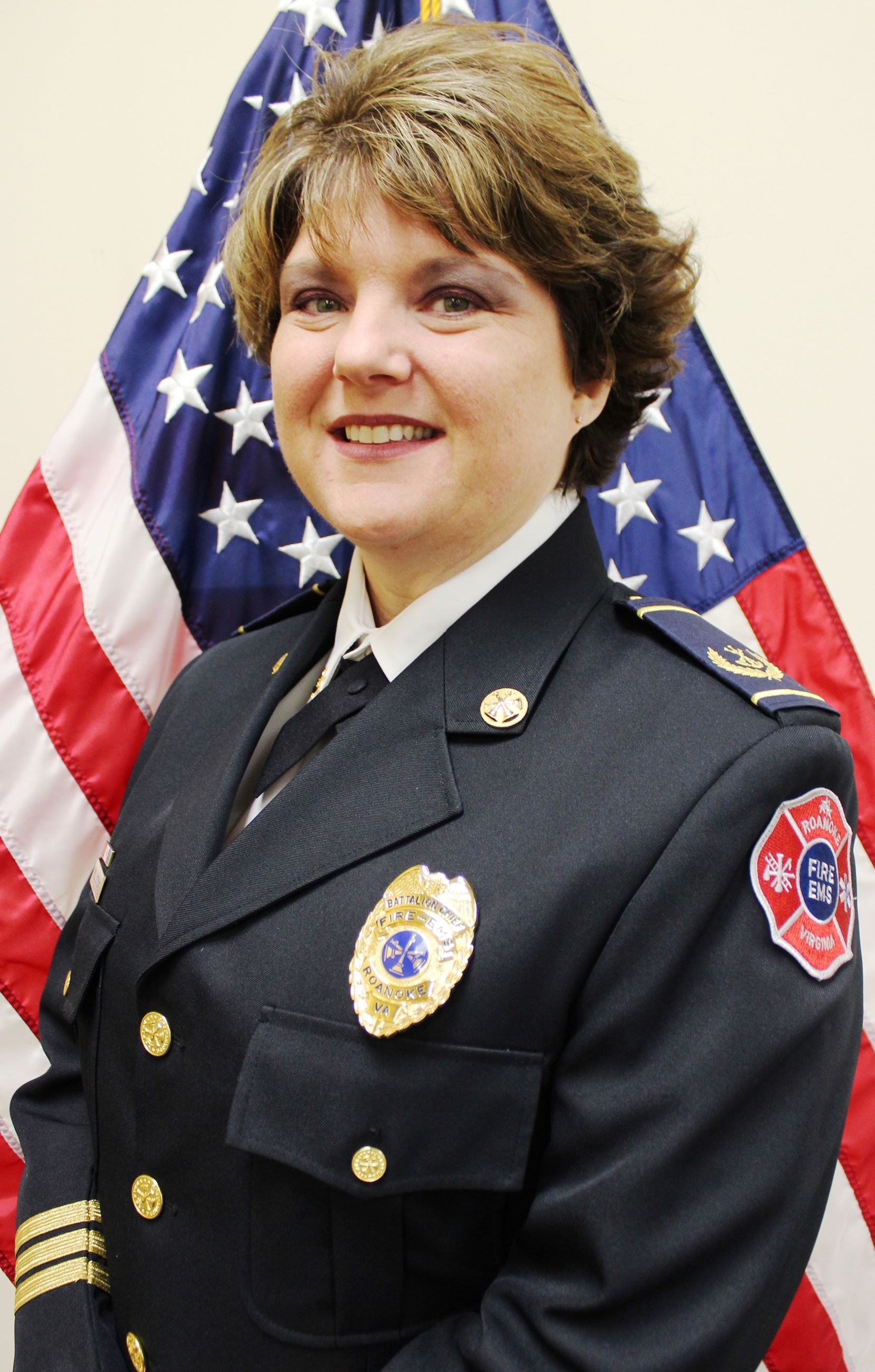 Battalion Chief Marci Stone