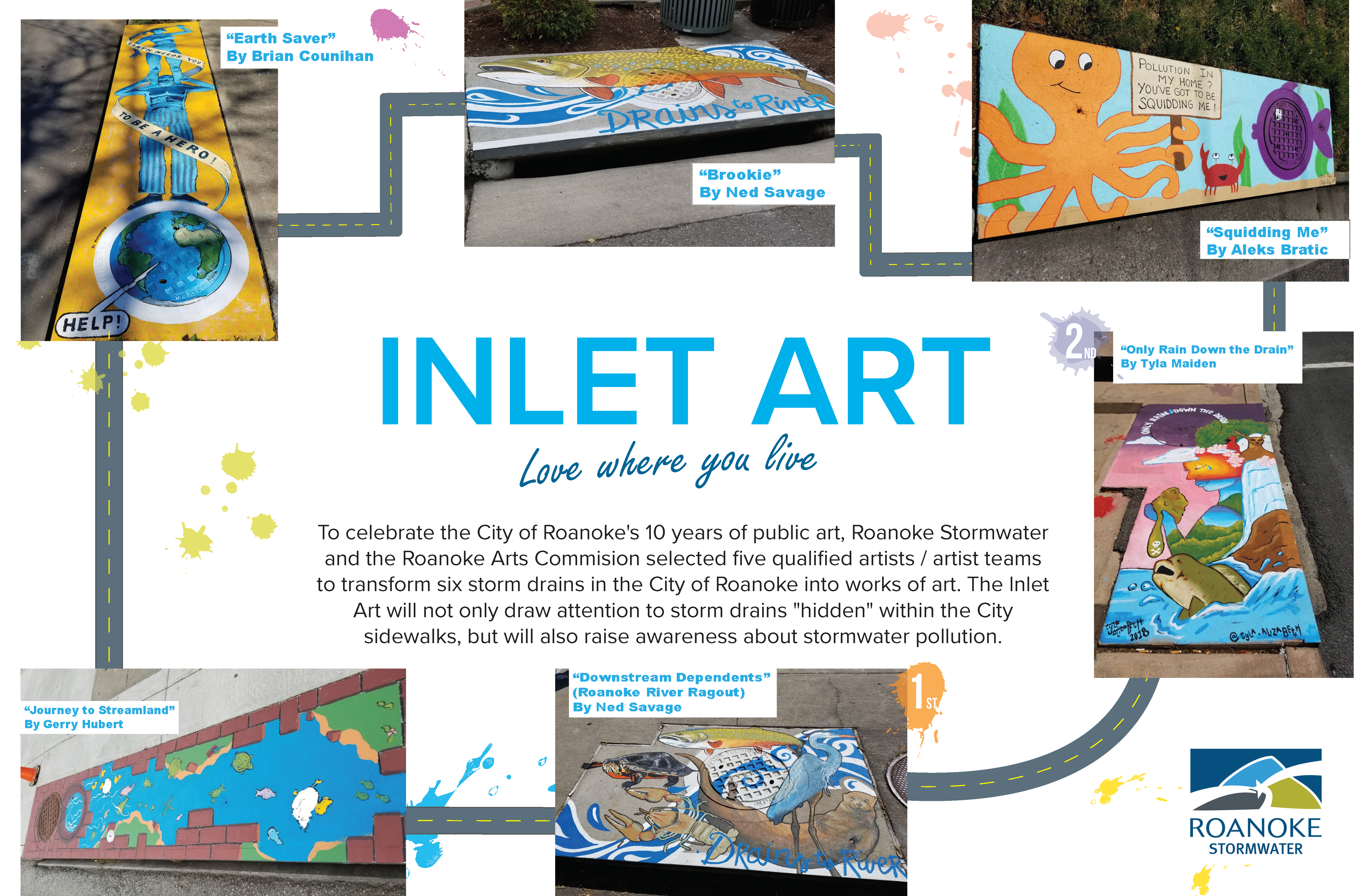 Inlet Art Collage