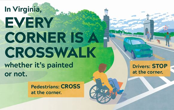 Pedestrian Safety Campaign LOGO 1 Small Opens in new window