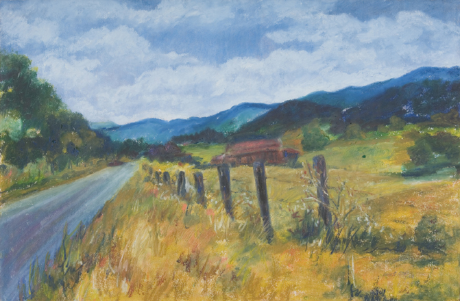 Catawba Oil Painting