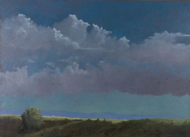 Hilltop - South of the Blue Ridge Oil Painting