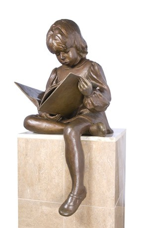 Once Upon a Time Bronze Sculpture