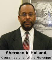 Sherman A. Holland, Commissioner of the Revenue